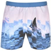 Product Image for BOSS HUGO BOSS Paradise Swim Shorts Blue