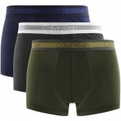 Product Image for Calvin Klein Underwear Triple Pack Trunks Navy