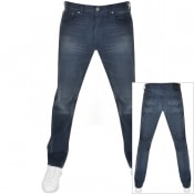 Product Image for Levis 501 Original Fit Jeans Navy