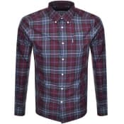 Product Image for Barbour Long Sleeved Connel Check Shirt Red