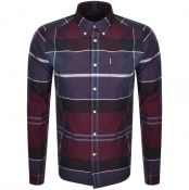 Product Image for Barbour Long Sleeved Cannich Check Shirt Red