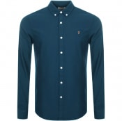 Product Image for Farah Vintage Farley Shirt Blue