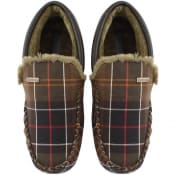 Product Image for Barbour Monty Tartan Slippers Green