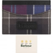 Product Image for Barbour Mixed Tartan Card Holder Purple