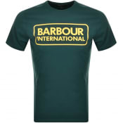 Product Image for Barbour International Large Logo T Shirt Green