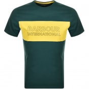 Product Image for Barbour International Logo T Shirt Green