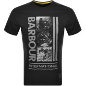 Product Image for Barbour International Logo T Shirt Black