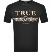 Product Image for True Religion Sequin Logo Crew T Shirt Black