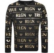 Product Image for True Religion Oversize Sweatshirt Black