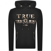 Product Image for True Religion Sequin Logo Hoodie Black
