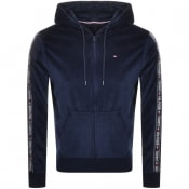 Product Image for Tommy Hilfiger Lounge Full Zip Hoodie Navy