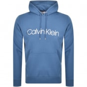 Product Image for Calvin Klein Logo Hoodie Blue