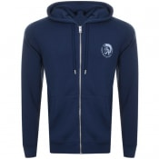 Product Image for Diesel Brandon Zip Hoodie Navy
