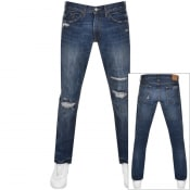 Product Image for Ralph Lauren Varick Slim Straight Jeans Blue