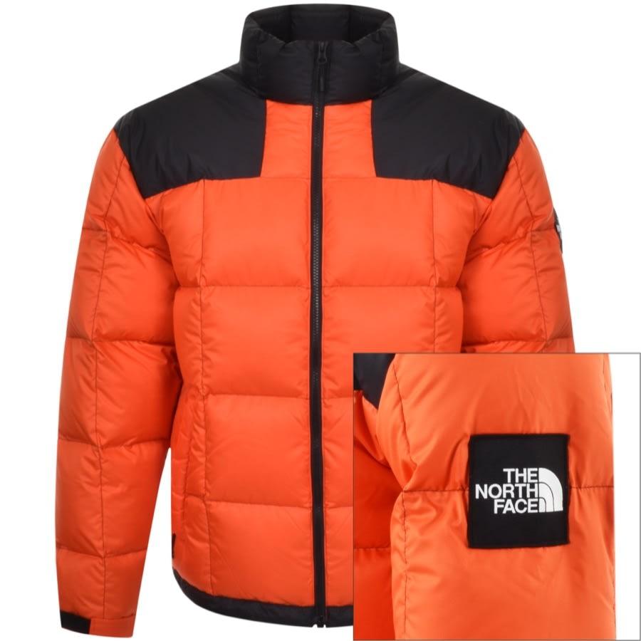 Monaco Affrontare Torna indietro  The North Face Lhotse Down Jacket Orange | Mainline Menswear United States