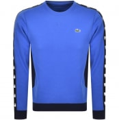Product Image for Lacoste Sport Crew Neck Sweatshirt Blue