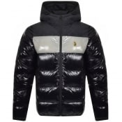 Product Image for Luke 1977 Bairstow Quilted Hooded Jacket Black