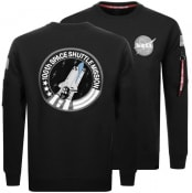 Product Image for Alpha Industries Space Shuttle Sweatshirt Black