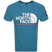 Product Image for The North Face Fine 2 T Shirt Blue