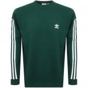 Product Image for adidas Originals 3 Stripes Sweatshirt Green