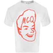 Product Image for MCQ Alexander McQueen Logo T Shirt White