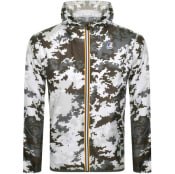 Product Image for K Way Le Vrai 3.0 Claude Jacket White