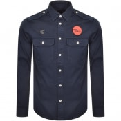 Product Image for Vivienne Westwood Long Sleeve Army Shirt Navy