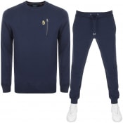 Product Image for Luke 1977  Paris And Rome Tracksuit Navy