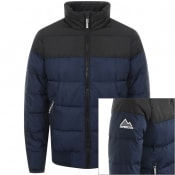 Product Image for Superdry Padded Track Sports Jacket Navy