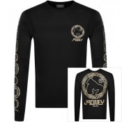 Product Image for Money Crew Neck Aztec Long Sleeve T Shirt Black