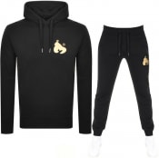 Product Image for Money Gold Tape Sig Ape Hooded Tracksuit Black