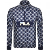 Product Image for Fila Vintage Polar Half Zip Logo Fleece Navy