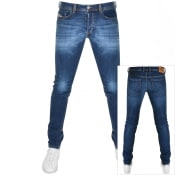 Product Image for Diesel Sleenker 0097T Skinny Fit Jeans Blue
