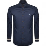 Product Image for Vivienne Westwood Long Sleeved Shirt Navy