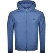 Product Image for Fred Perry Padded Hooded Jacket Blue