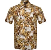 Product Image for Just Cavalli Short Sleeved Shirt Yellow