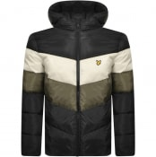 Product Image for Lyle And Scott Hooded Puffer Jacket Black