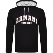 Product Image for Armani Exchange Logo Hoodie Black