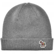 Product Image for PS By Paul Smith Zebra Beanie Hat Grey