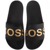 Product Image for BOSS HUGO BOSS  Bay Sliders Black