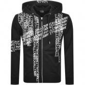 Product Image for Just Cavalli Full Zip Logo Hoodie Black