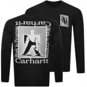 Product Image for Carhartt Foundation Long Sleeved T Shirt Black