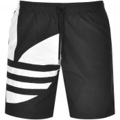 Product Image for adidas Originals Trefoil Logo Shorts Black
