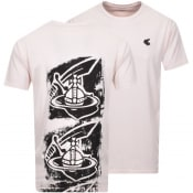 Product Image for Vivienne Westwood Small Orb T Shirt Pink