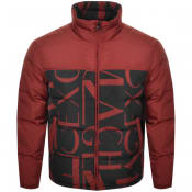 Product Image for Armani Exchange Quilted Down Jacket Red