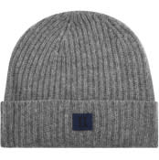 Product Image for Les Deux Piece Wool Beanie Grey