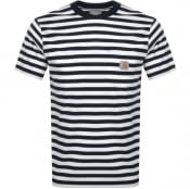Product Image for Carhartt Scotty Short Sleeved T Shirt Navy