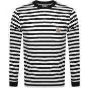 Product Image for Carhartt Scotty Long Sleeved T Shirt Black