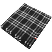 Product Image for Tommy Hilfiger Tailored Check Scarf In Black