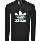 Product Image for adidas Originals Logo Sweatshirt Black